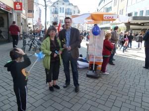 19.04.2014 Ursel und Herr Baak im Gespräch